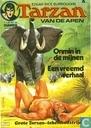 Strips - Tarzan - Onmin in de mijnen + Een vreemd verhaal