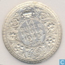 British India ¼ rupee 1945 (Bombay - small 5)