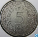 Coins - Germany - Germany 5 mark 1951 (G)