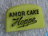 Hoppe Amor cake [zwart op geel]