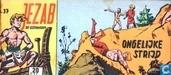 Comic Books - Jezab - Ongelijke strijd