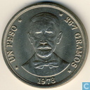 République dominicaine 1 peso 1978