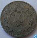 Oostenrijk 10 heller 1895