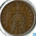 Latvia 2 santimi 2000