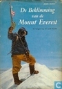 De beklimming van de Mount Everest