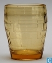 Labyrinth Waterglas1935 amber
