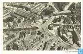 Voor 1940. Hofplein met omgeving. Luchtopname