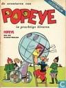 Comic Books - Popeye - Popeye en de kunstmaan