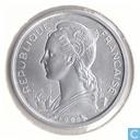 Français Somaliland 1 franc 1965