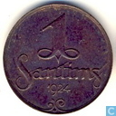 Latvia 1 santims 1924