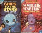 Boeken - Bulmer, Kenneth - Ships to the Stars + The Million Year Hunt