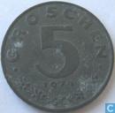 Oostenrijk 5 groschen 1974