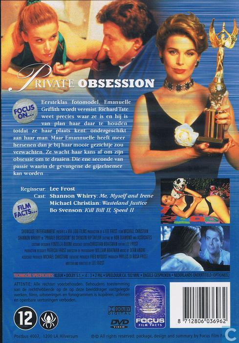Private Obsession - DVD - Catawiki
