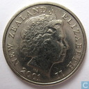 Coins - New Zealand - New Zealand 5 cents 2001