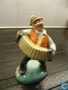 Squeezebox statue