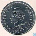 New Caledonia 10 francs 1977