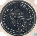 French Polynesia 20 francs 1983