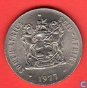South Africa 50 cents 1977
