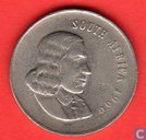 South Africa 20 cents 1966 (English)