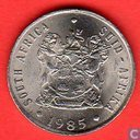 South Africa 10 cents 1985