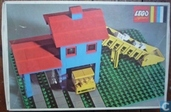 Lego 351 Loader hopper with truck