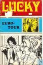 Comics - Lucky Beeldroman - Euro-tour