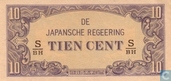 Dutch India 10 cents 121 c