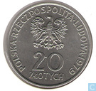 "Poland 20 zlotych 1979 ""International Year of the Child"""