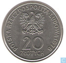 "Polen 20 Zloty 1978  ""First Polish Cosmonaut"""