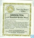 Green Tea with Roasted Brown Rice