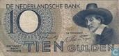 Netherlands 10 Gulden 1944
