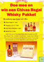 Doe mee en win een Chivas Regal whisky pakket
