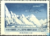Mountain routes Tibet