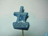 De Witte Molen Vogelvoer [white on blue]