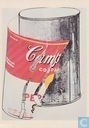 Andy Warhol - Big Torn Campbells' Soup Can