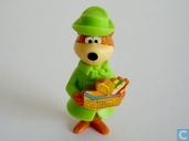 Yogi Bear met picknickmand