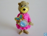 Cindy Bear with magnifier
