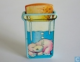 Hippo in bottle