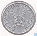 Hungary 20 fillér 1963