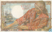 France 20 francs de billets