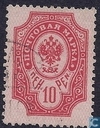 Postage Stamps - Finland - 10 Red
