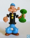 Popeye with weight