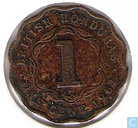 British Honduras 1 cent 1961