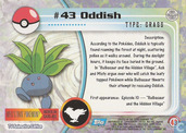 Trading cards - Pokémon TV Animation Edition Series 1 - Oddish