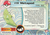 Trading Cards - Pokémon TV Animation Edition Series 1 - Metapod