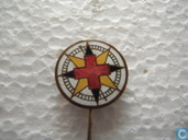 Compass rose Red Cross