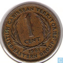 British Caribbean Territories 1 cent 1961