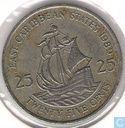 East Caribbean States 25 cents 1989