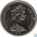 "Ascension 1 crown 1978 (copper-nickel) ""25th Anniversary of the Coronation of Queen Elizabeth II"""
