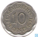Maurice 10 cents 1971